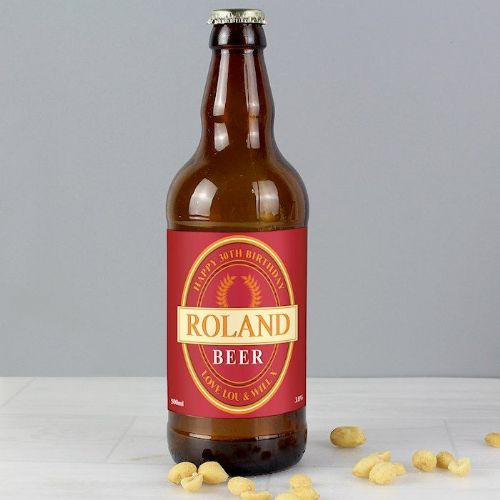 Personalised Red Wheat Beer